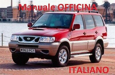 NISSAN TERRANO II 2 (1996 / 2006) Manuale Officina ITALIANO SU CD