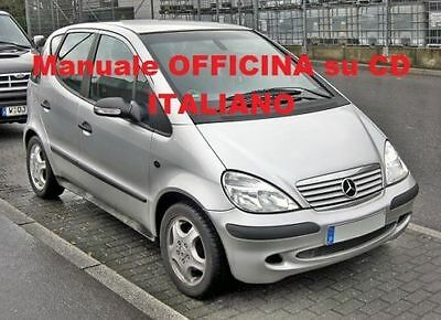 Mercedes Classe A ( 1997 / 2004) ( W168 ) Manuale Officina ITALIANO SU CD W 168