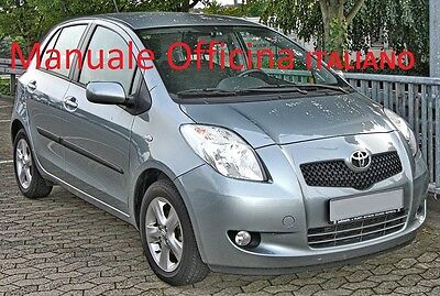 TOYOTA YARIS seconda serie 2° XP9 (2005/2011) Manuale Officina ITALIANO SU CD
