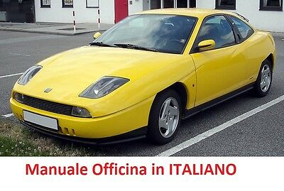 Fiat COUPE' (1994/2001) Manuale Officina ITALIANO SU CD