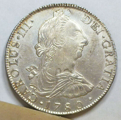 Bolivia 8 Reales 1780 PTS-PR Extremely Fine