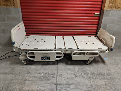 Stryker Secure II 3002 EX All Electric Hospital Medical Bed with Scale & IV Pole
