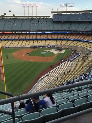 UP TO 2 DODGERS RESERVE TICKETS 3/27 AISLE 53 ROW BB vs. ANGELS AISLE SEATS