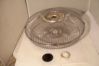 """Replacement Part KMC 12"""" Oscillating Fan Front & Back Cage Model HF-30D"""
