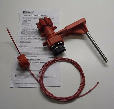 Brady 51392 Universal Valve Lockout With Blocking Arm & Cable
