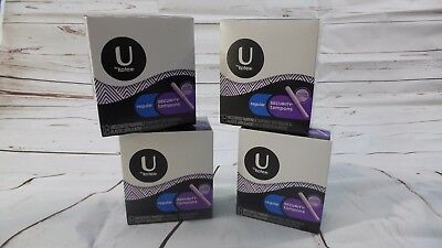 U by Kotex Regular Security Tampons 4 Boxes 72 Unscented Total