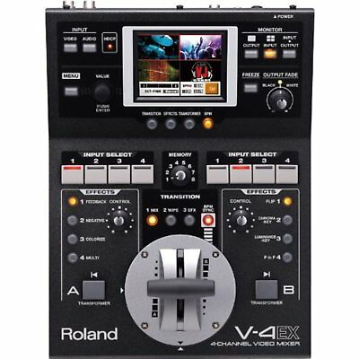 Roland 4channel digital video mixer 4 V-4EX New Japan EMS FreeShip w/Tracking#