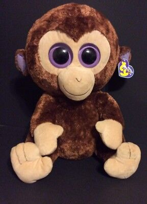 a4b82100cb0 Ty Beanie Boos Coconut Monkey Extra Large Plush