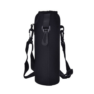 1000ML Water Bottle Carrier Insulated Cover Bag Holder Strap Pouch For Outdoor