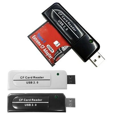 For PC Camera Reader New Quality High Speed USB 2.0 CF Card Reader Compact Flash