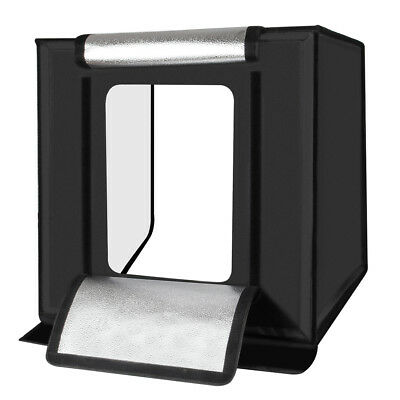 40x40cm Photo Studio Shooting Led Lighting Tent Kit Portable Mini Cube Box DE4A
