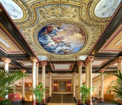 3D Ornate Angels Painting 52 Ceiling Wall Paper Print Wall Indoor Wall Murals CA
