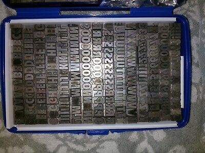 "20th Century Cond Ultra Bold 36pt letterpress metal type ""FONTED"" & pkgd secrly"