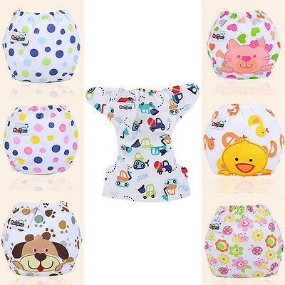 IT- Newborn Baby Diaper Cover Adjustable Reusable Washable Nappy Sell In Crowds