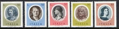 Italy MNH 1974 Famous Artists
