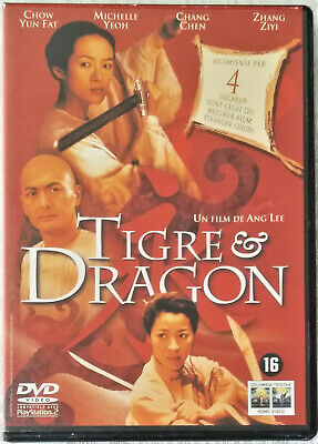 Dvd Tigre Et Dragon/Cinema Taiwanias/Ang Lee/Chow Yun Fat/Karate/Kung Fu/M. Yeoh
