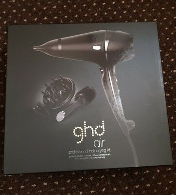 GHD Air Professional Powerful Salon Hair Dryer Kit