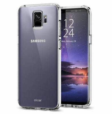 Front and Back Clear Full Protection TPU Gel Skin Case For Samsung Galaxy S9