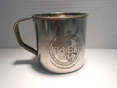 Wild Bill's Olde Fashioned Soda Pop Company Stainless Steel MUG  2014