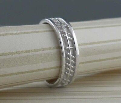 engraved style sleek a personalized pin with modern wedding rings secret ring ogham
