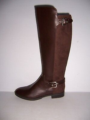 LIZ CLAIBORNE DALLAS Damens's Coffee Bean Braun Riding Stiefel Größe 10 10 Größe ... 21255d