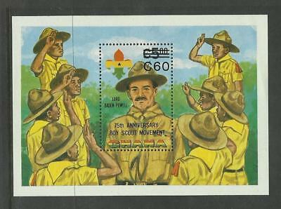 Ghana MNH 1982 The 75th Anniversary of Boy Scout Movement M/S