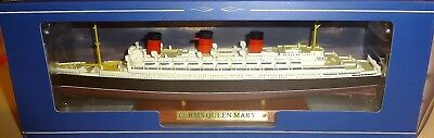 QUEEN MARY RMS Schiffsmodell ATLAS French Lines  neu in Box 1:1250 NEU OVP UI2 *