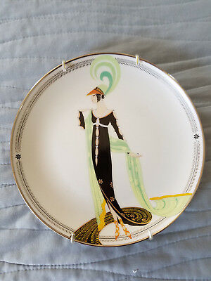 House Of Erte' DIRECTOIRE Limited Edition Plate