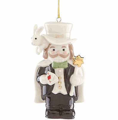 Lenox 2018 Merry Magician Nutcracker Ornament