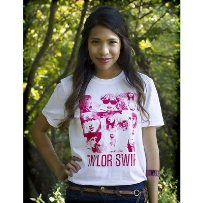 Taylor Swift White Unisex Tee Squares Youth & Regular Size: Medium & Small