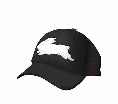 2017 Souths Media Cap (Black) - One Size Fits Most