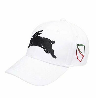 2017 Souths Media Cap (White) - One Size Fits Most