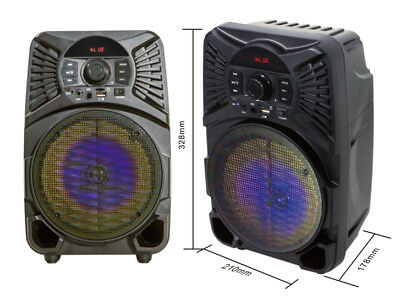 """Ridgeway BS-6530 6.5"""" Portable Rechargeable Bluetooth Speaker with USB/SD/AUX"""
