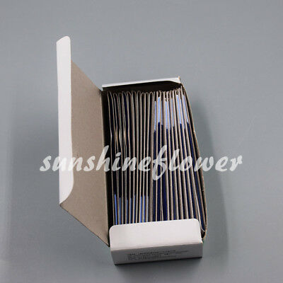 20 Books Dental Supplies Practical Articulating Soft Thin Strips Paper Blue