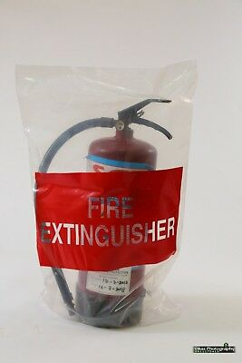 Fire Extinguisher UV treated clear Bags-Large for 2.5 KG to 4.5 KG Cylinder