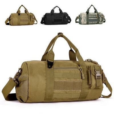 IT- Men Shoulder Carry Duffle Bag Sports Military Gym Camping Crossbody Pouch Gr