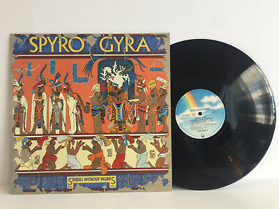 Spyro Gyra - Stories without Words | German First Press 1987 | Cleaned Vinyl LP
