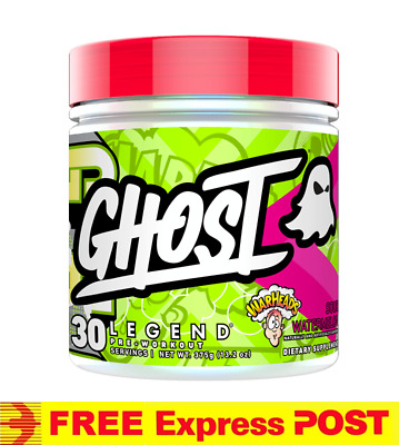 GHOST Legend REDBERRY 30 serve | Pre Workout Energy Pump