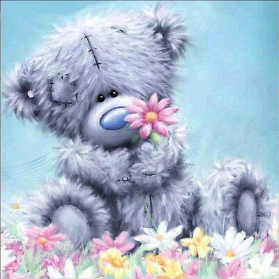IT- Bear 5D Diamond Painting Cross Stitch Kit DIY Wall Craft Bedroom Decor Relia