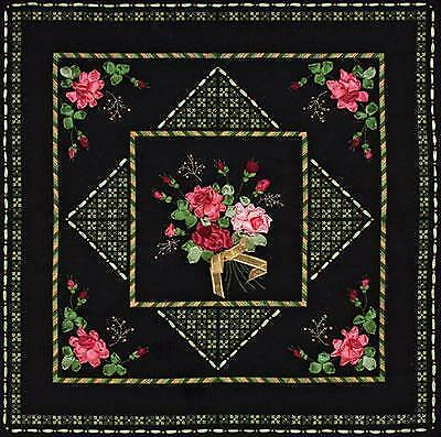 Ribbon Embroidery and Counted Cross Stitch Kit by Panna  PD-0847 Cushion Cover