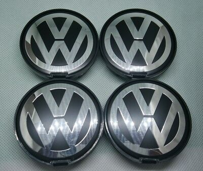 Wheel CENTER CapS 63mm x 4 FIT TO WV ALLOY 7D0 601165 63mm FREE SHIP