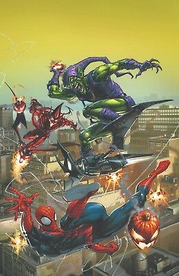 Amazing Spiderman 799 Clayton Crain Comicxposure Virgin Variant Pre-Sale 4/18