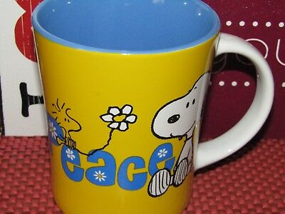Peanuts Gang ~Snoopy & Woodstock ~ Peace and Love ~ 'Peace' ~ Coffee/Tea Mug