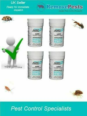4 x Bed Bug Bomb Killer Foggers For Bedbugs Expert Treatment Pest Mini 3.5g AP