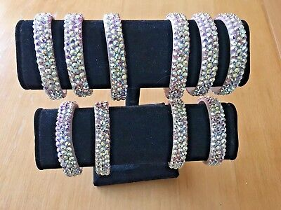 Made with SWAROVSKI Jewelry - BALLROOM or DANCE Bracelet  - Crystal AB