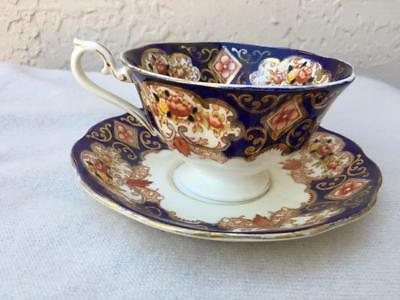 Royal Albert Heirloom Footed Cup & Saucer Set