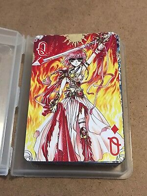 Magic Knight Rayearth Playing Cards - FULL SET w/ Jokers