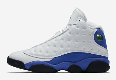 New 2018 Nike Air Jordan Retro 13 XIII White Hyper Royal Blue Black 414571-117