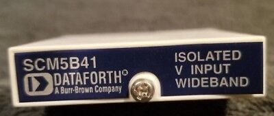 Dataforth SCM5841-07, wide bandwidth isolated voltage input module