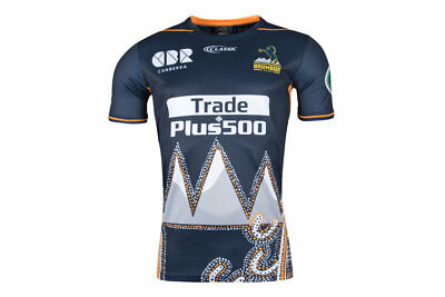 ACT Brumbies 2018 Super Rugby Players Indigenous Captains Run Shirt Size S-3XL!